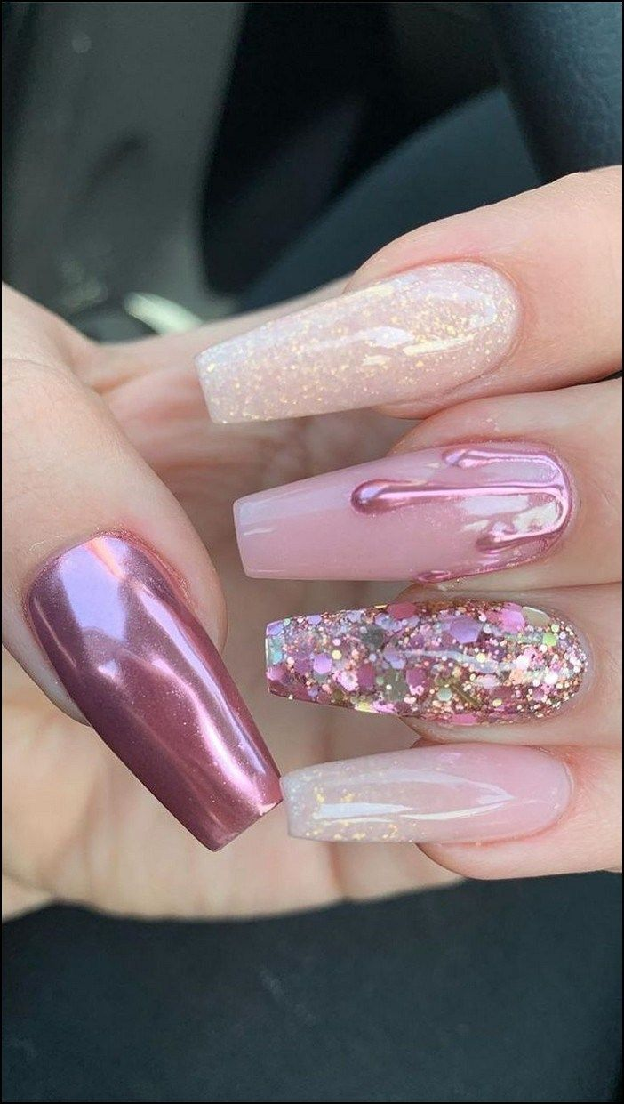 88+ best coffin nail & gel nail designs for summer 2019 - page 41 | Home Inc