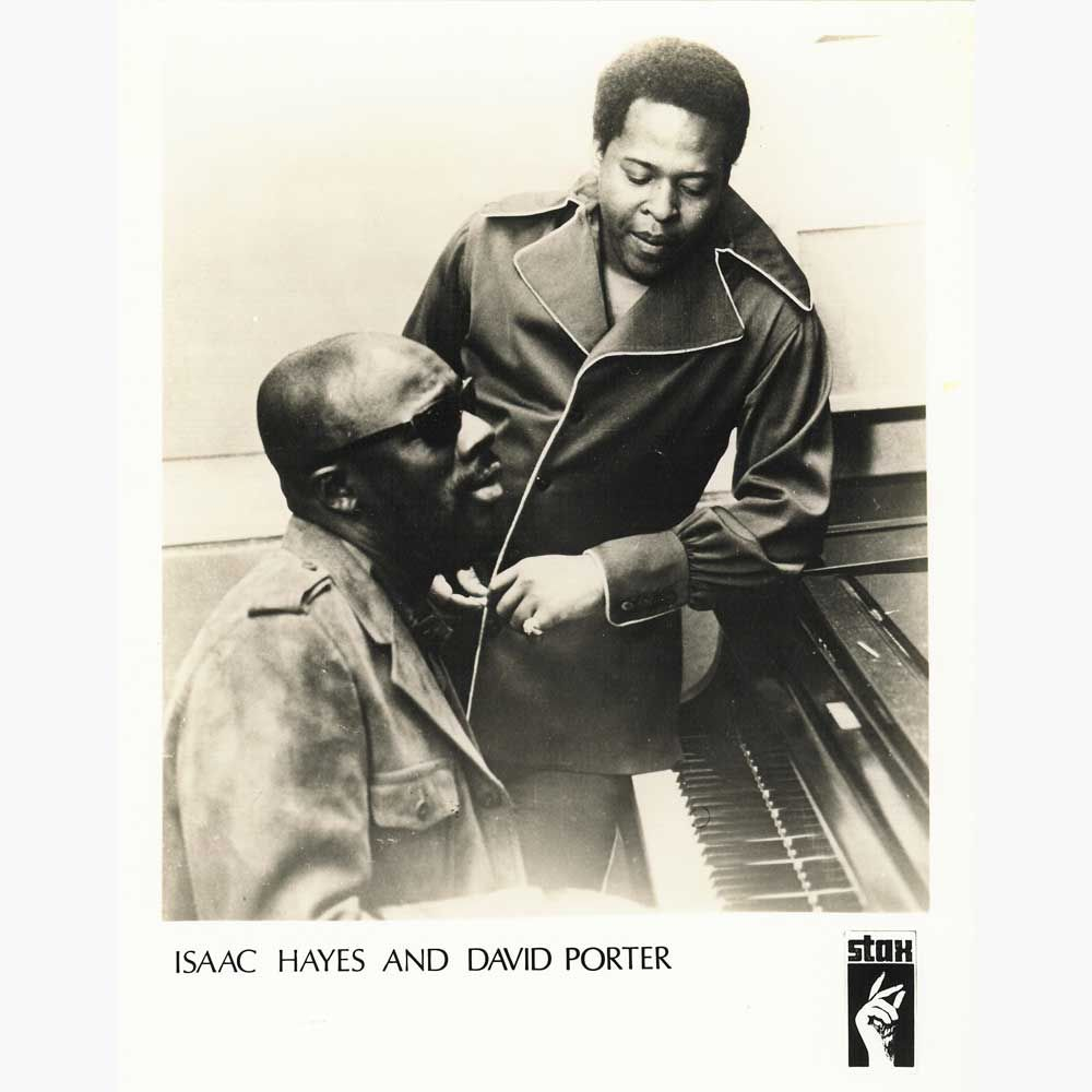 Isaac Hayes and David Porter | Isaac hayes, Music poster, Songwriting