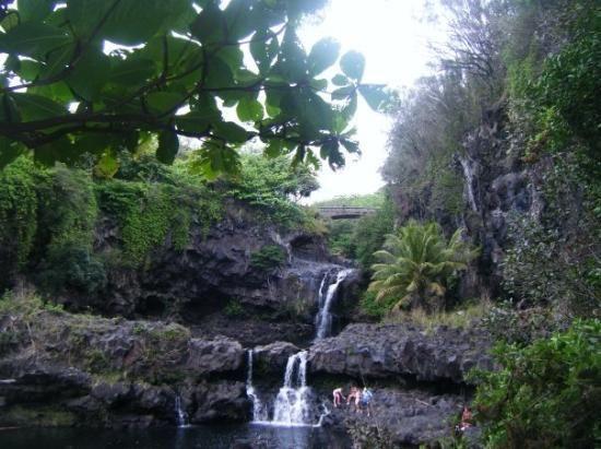 Sacred Pools Hana Maui Like Wordless Beauty Haleakala National Park National Parks Maui Travel