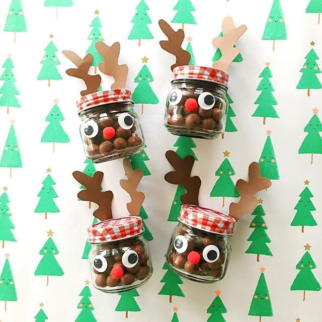 "hello, Wonderful on Instagram: ""Before I became a mom I never thought I'd be gluing pom poms on jars ☺️ but there you go just proof that motherhood changes you for the…"" #teacherchristmasgiftideas"