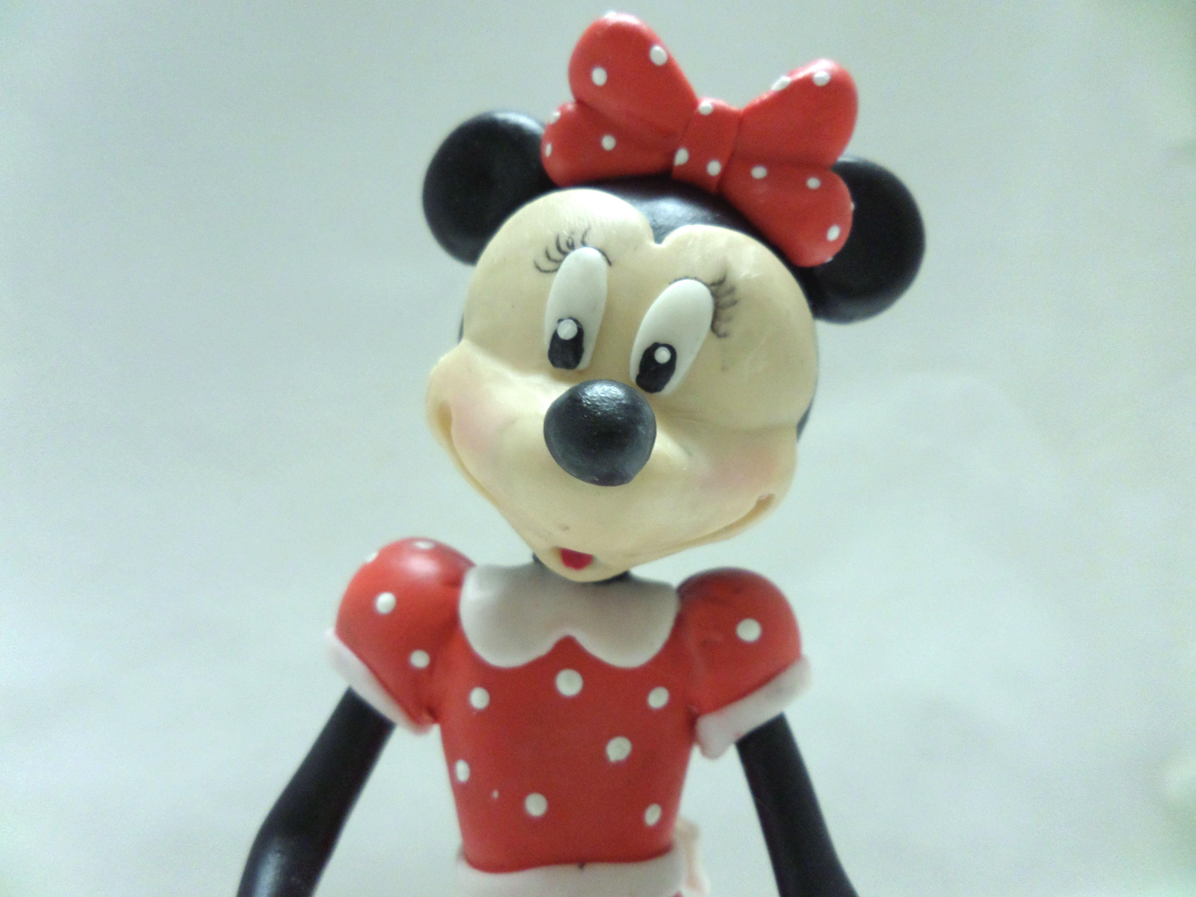 Topo de Bolo Minnie