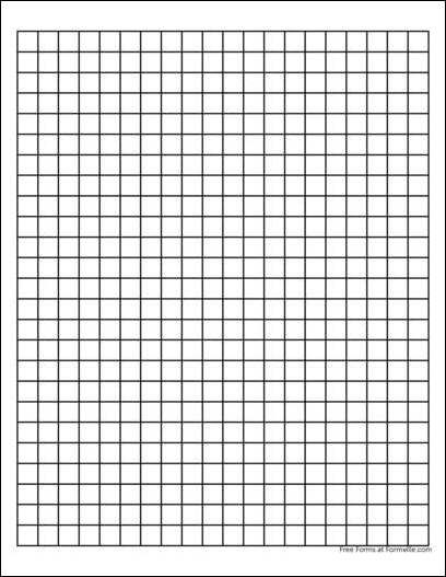 Printable Graph Paper 1 Cm Grid | Graph paper, Printable ...