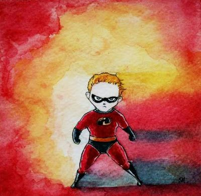 'The Incredibles' by Kendra Minadeo