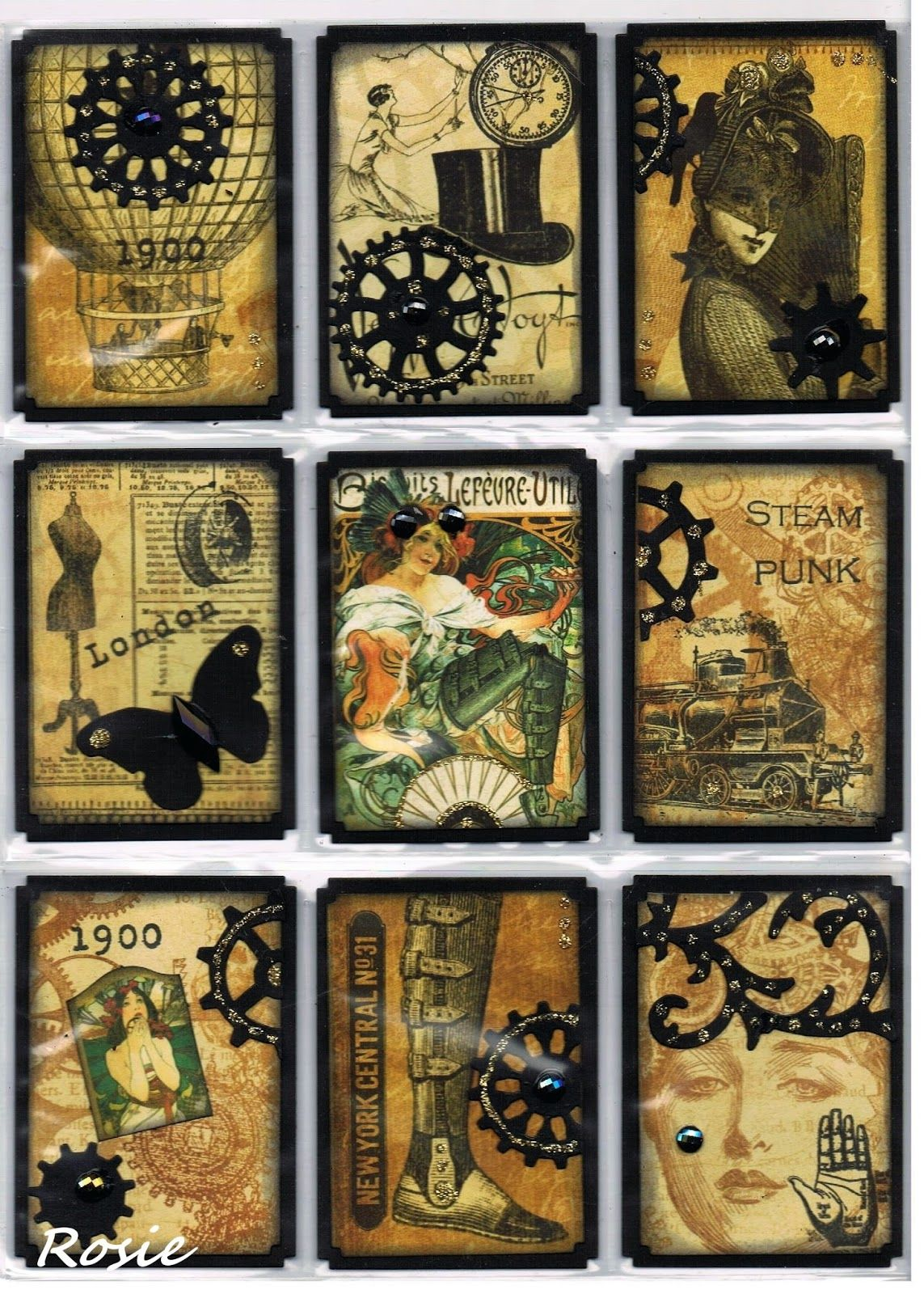 for SanDee & Amelie's Steampunk Challenge ,  MOO MANIA & MORE - Anything goes and for Fashionable Stamping Challenge #99  - Use a Person or...