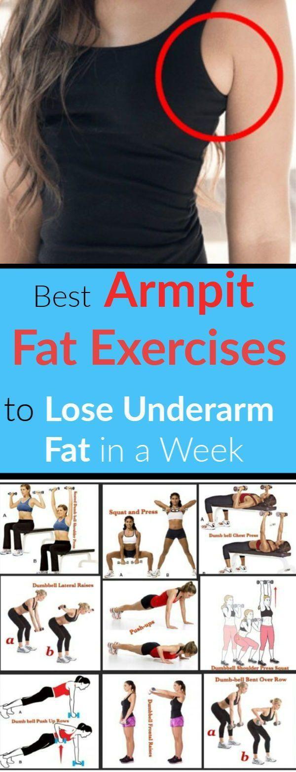 Wie man Achselhöhlenfett in einer Woche-10 loswird Beste Unterarm-Fett-Übungen - Yoga & Fitness - #A...