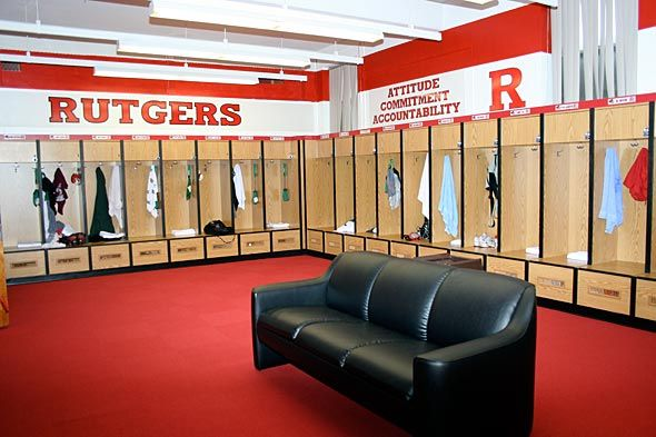 Best College Football Locker Room College Fun Locker Room Lockers