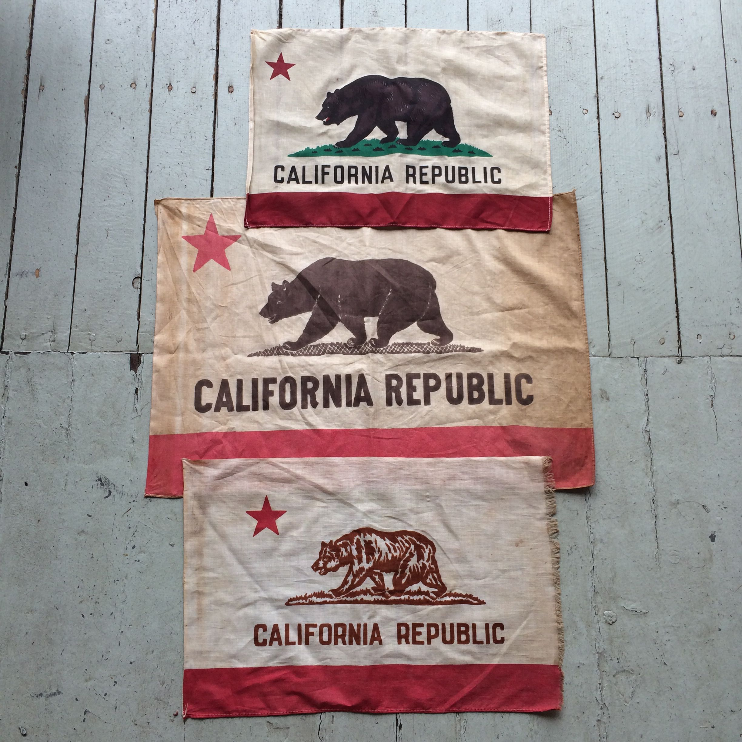Early California Flags