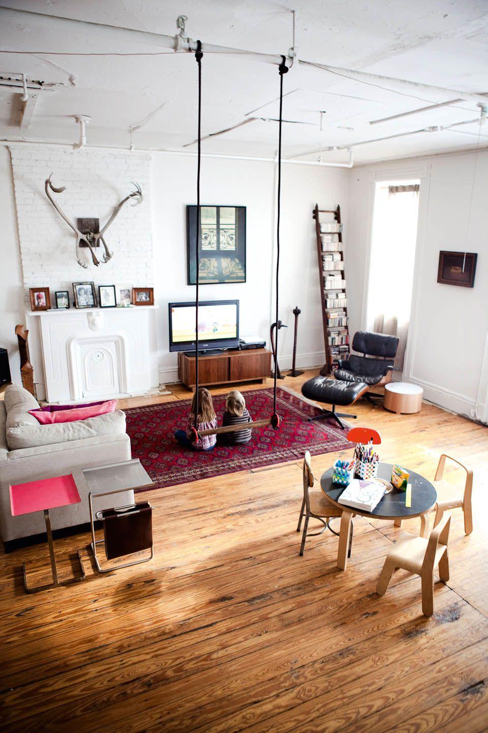 Swing home pinterest playrooms swings and indoor swing