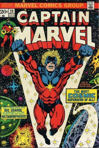 captain marvel origine