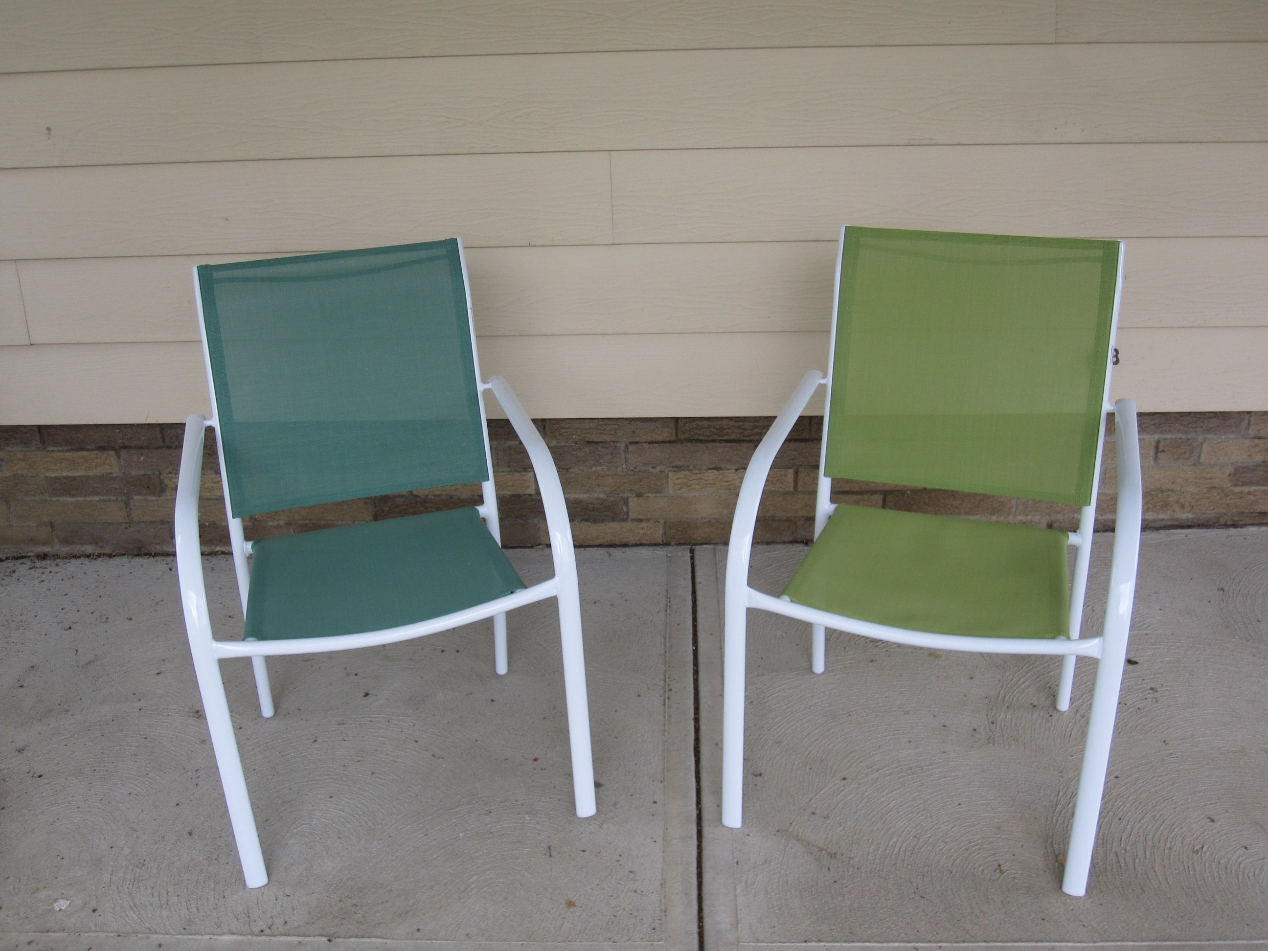 Webbed Folding Lawn Chairs