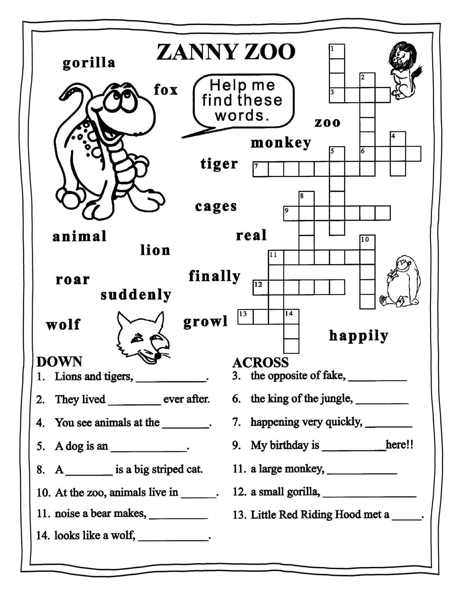 English Worksheet 3rd Grade Geography