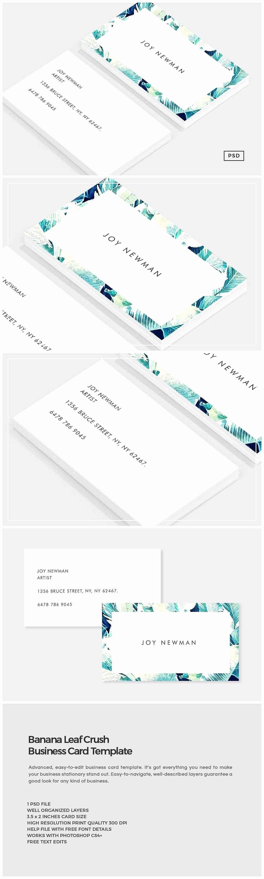 Business Card Size Photoshop Template 10 Professional Throughout Business Card Template Size Pho Business Card Inspiration Unique Business Cards Card Design