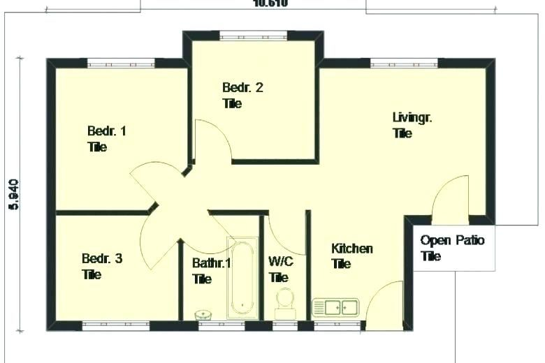 3 Bedroom Home Plansbeautiful 3 Bedroom Home Plans For 3 Bedroom House Design Three Bedroom H