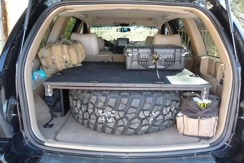 WJ Cargo Storage System North American Grand Cherokee