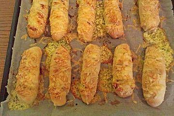 Anklicken zum Vergrößern von Käsebrötchen mit Füllung