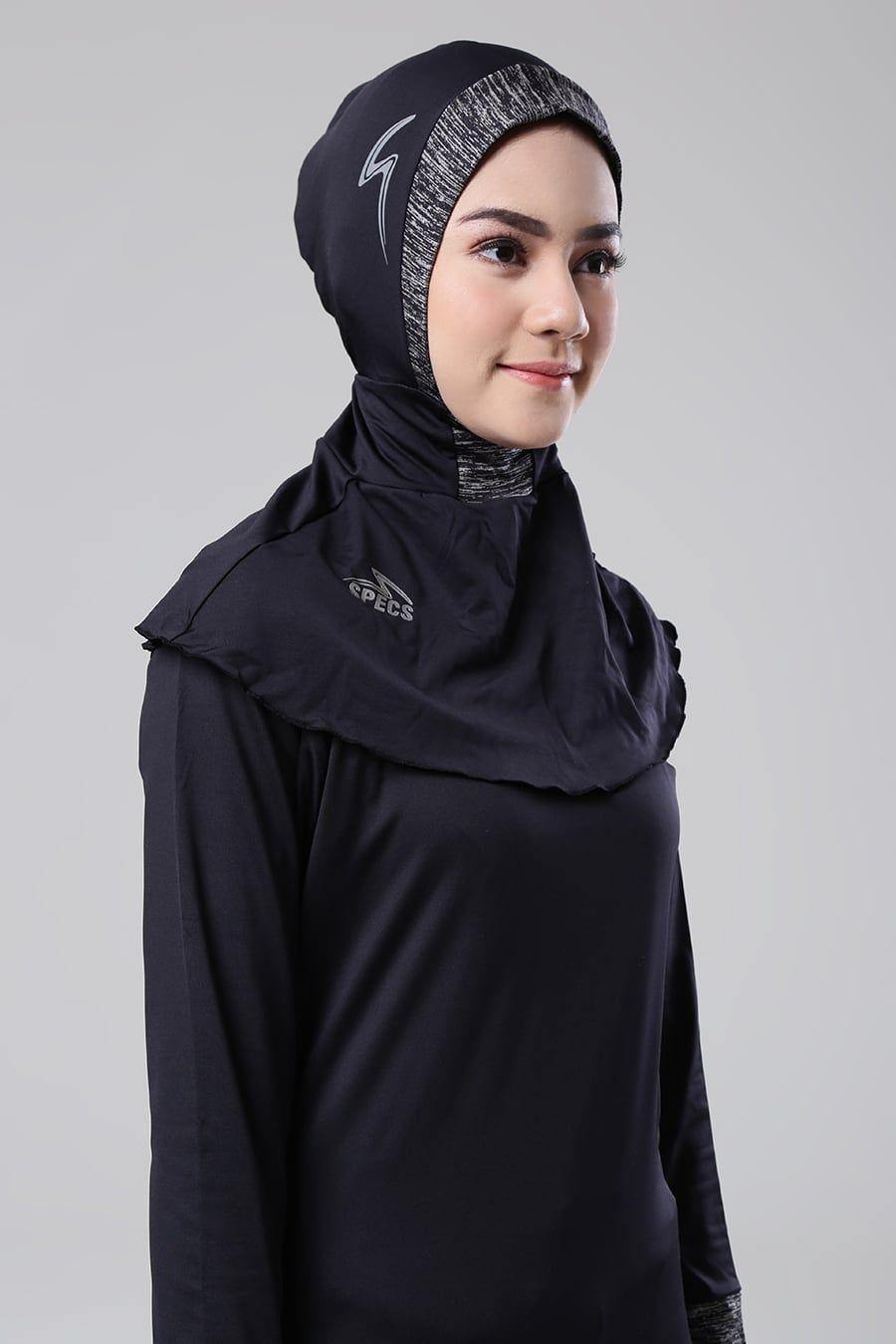 Esorra Hijab Cap W Specs Active Hijab Sport Hijup Gaya Model Pakaian Model Pakaian Kerudung