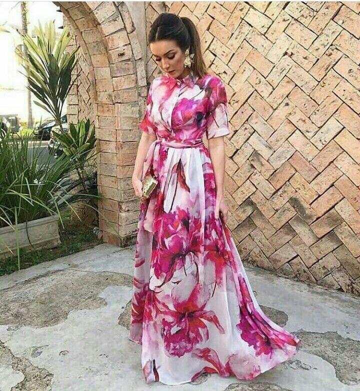 Pin by Karla Castillo de Iturbe on Vestidos de día | Pinterest ...