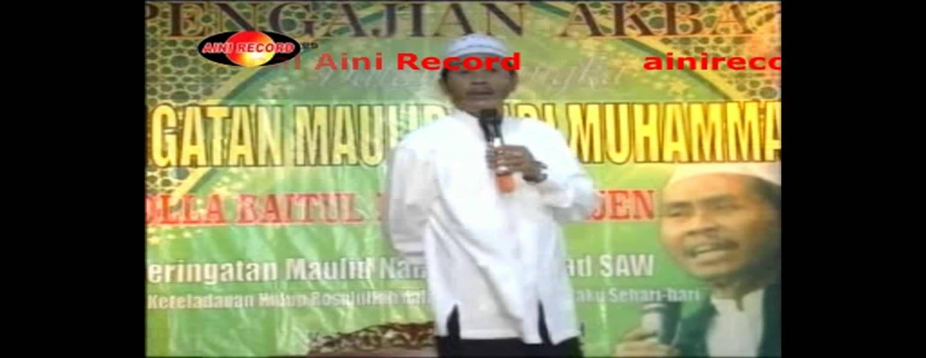 Pengajian Lucu 2015 KH Anwar Zahid Terbaru Maulid Nabi Muhammad