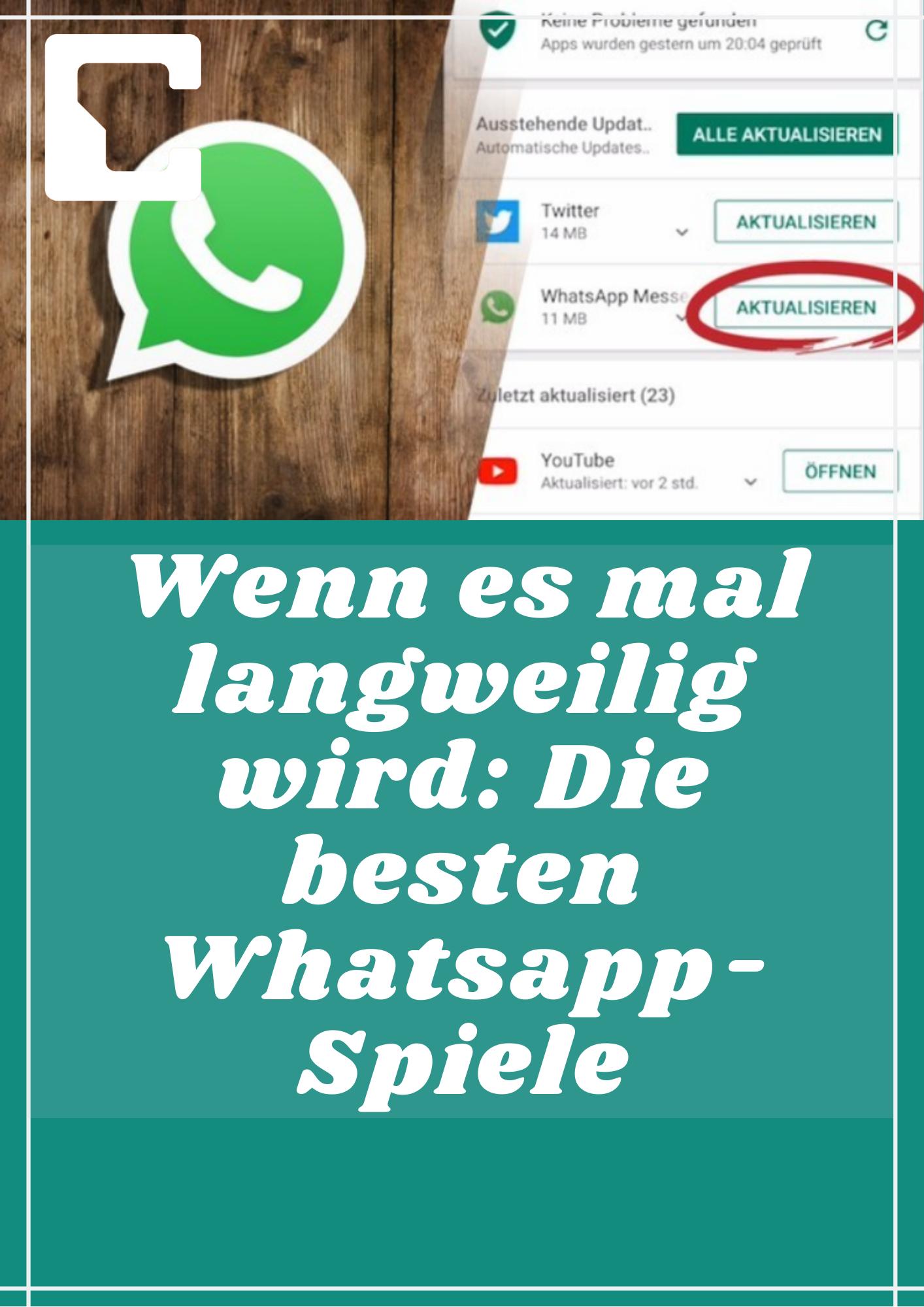Die besten Whatsapp-Spiele in 2020   Whatsapp spiele