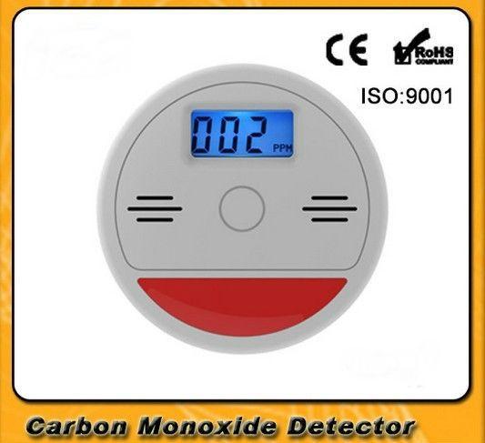 홈 보안 85dB 경고 높은 민감한 LCD 광전 독립 CO 가스 센서 일산화탄소
