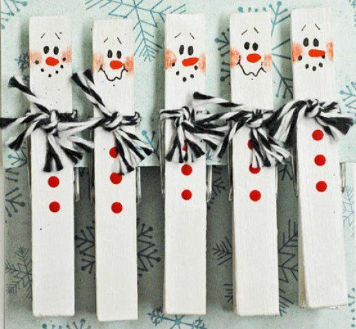 48 Cly Clothespin Craft Ideas Christmas Crafts Clothes