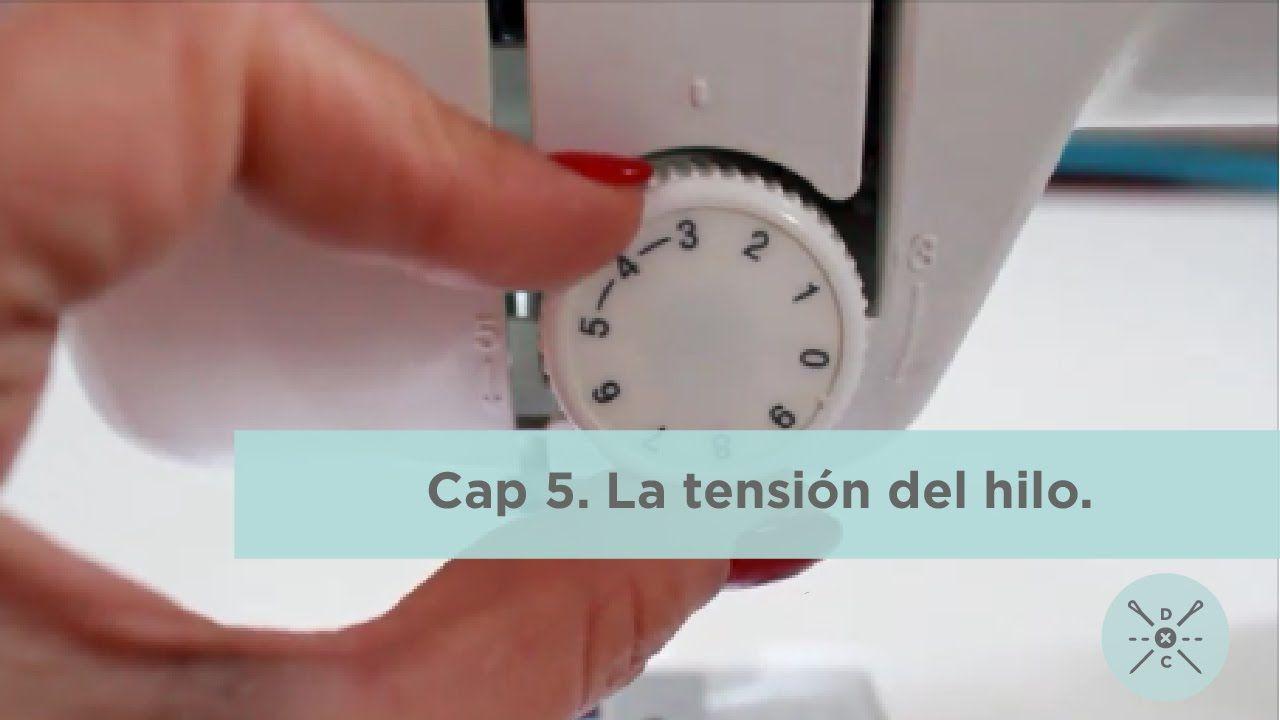 Cap 5.- La tensión del hilo. | Maquina de coser, Costura