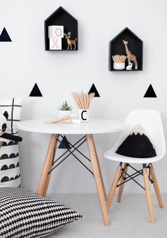 blog Vera Moraes - Decoração - Adesivos Azulejos - Papelaria Personalizada - Templates para Blogs: Decoração quarto infantil branco e preto
