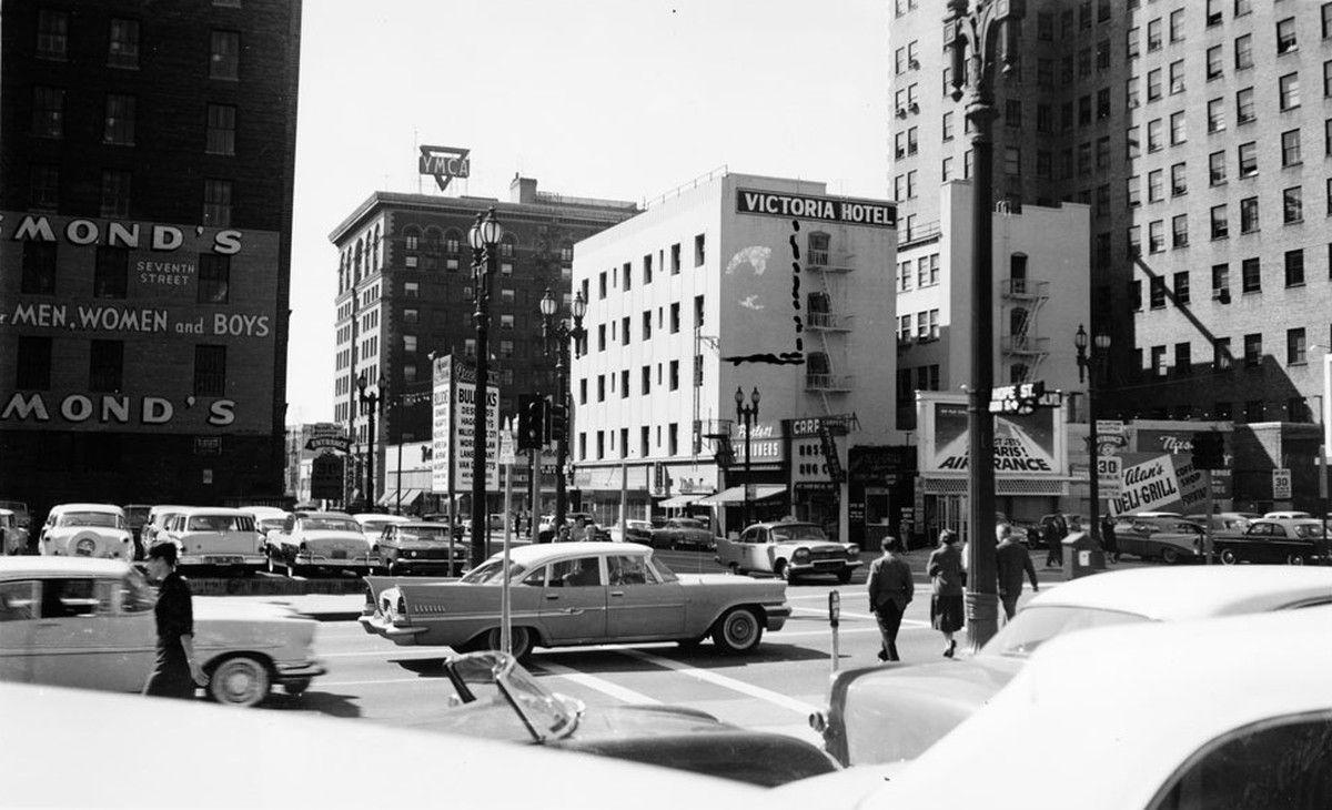 Los Angeles 1960 Los angeles, Downtown los angeles