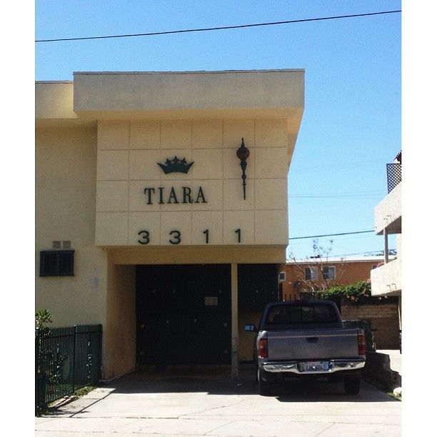 tiara apartments mid century modern with crown dingbat bagley ave