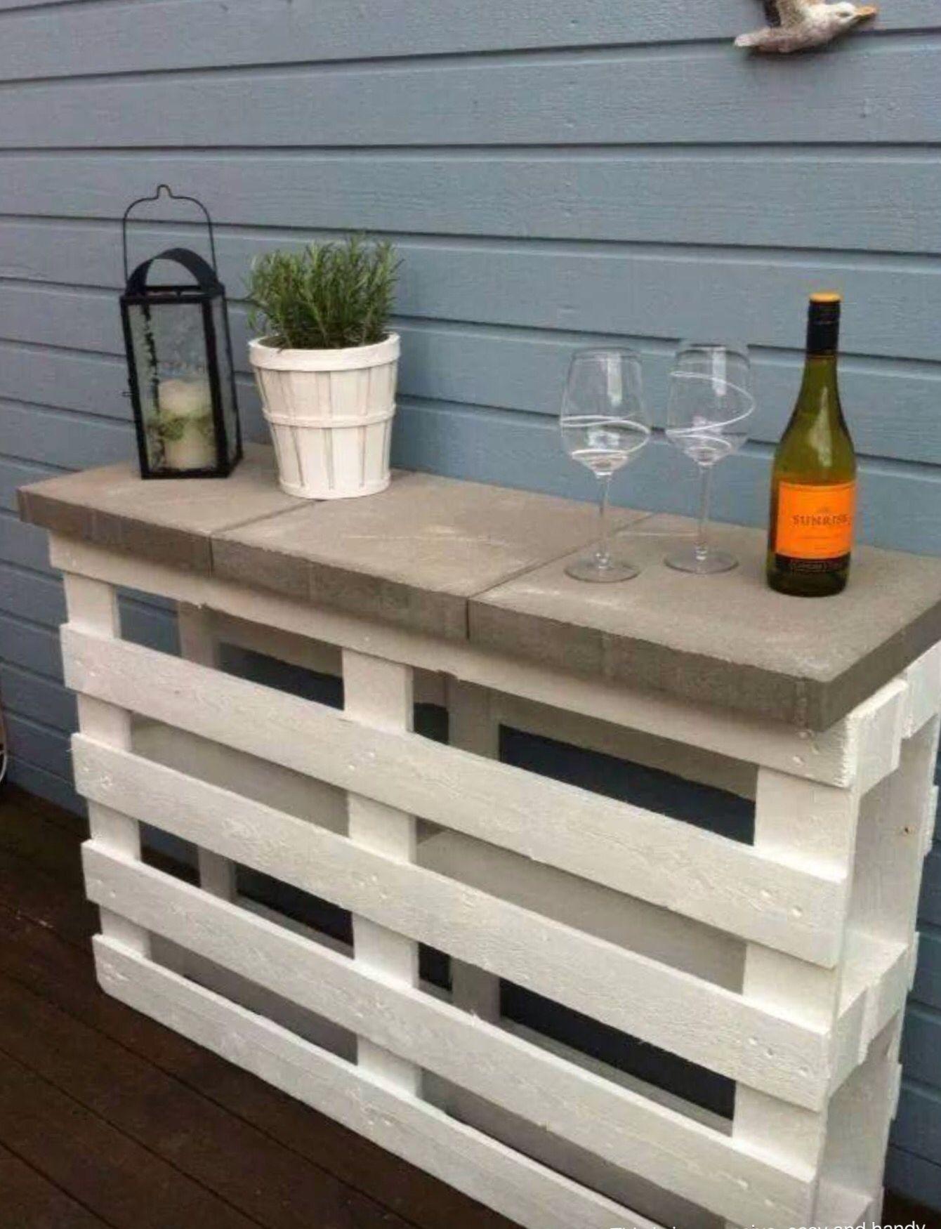 Do It Yourself Outdoor Bar: Do It Yourself Patio Shelf