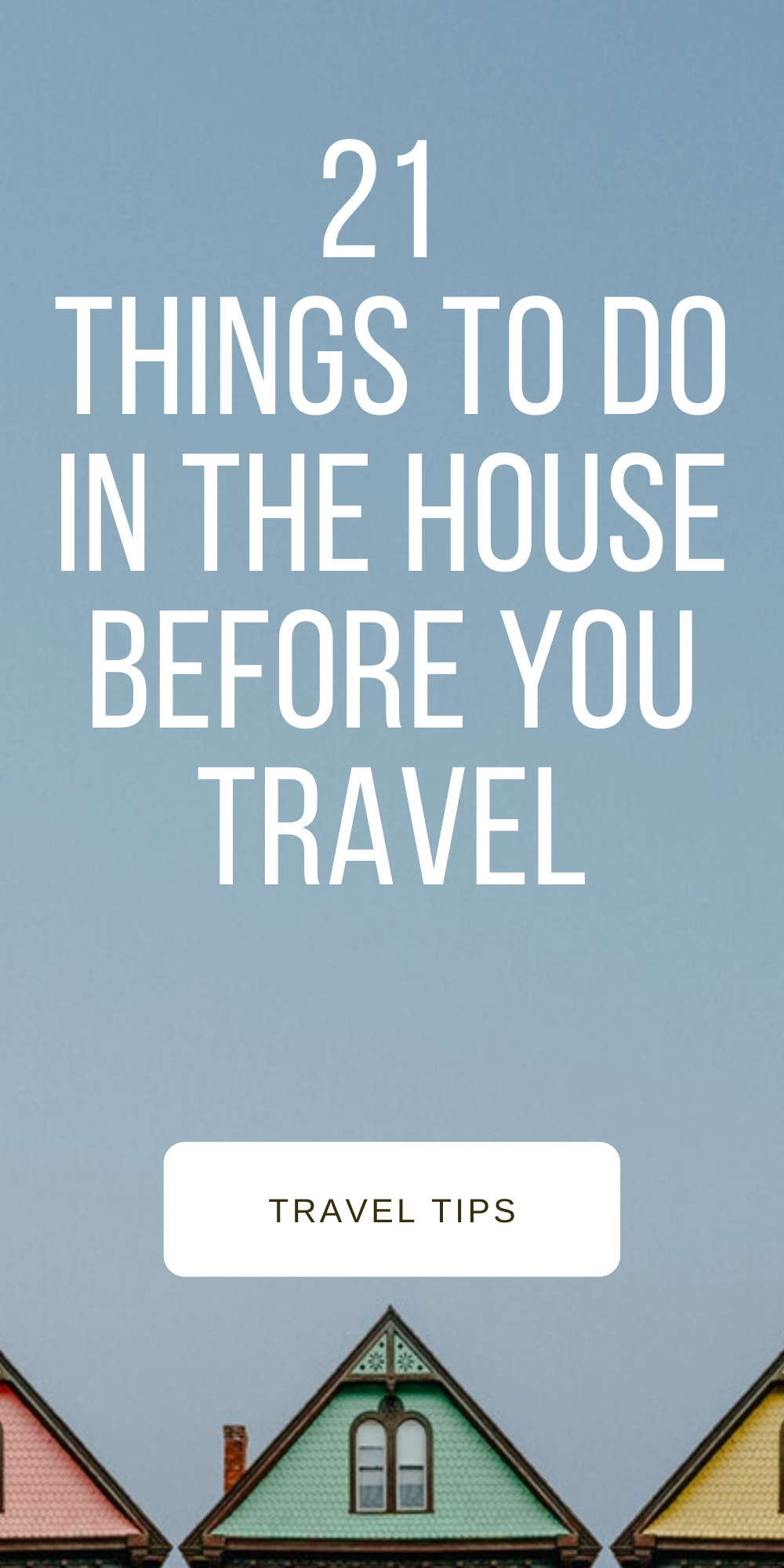 When we go on a trip, we are all excited! However, do not forget to prepare your house/apartment for the return! With some tips and a little effort, you will find your house all clean! Amazing no? #travelhacks #cheaptravel #budgettravel #cheapdestinations #travel #travelonabudget #traveldestinations