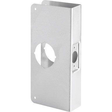 Door Reinforcr Brs 9551 Misc By Prime Line Products 11 99 Mag Security Install A Lock Door Reinforcer 2 1 8 Bore 4 X 9 2 3 8 Backset For 1 3 4 Thick Door