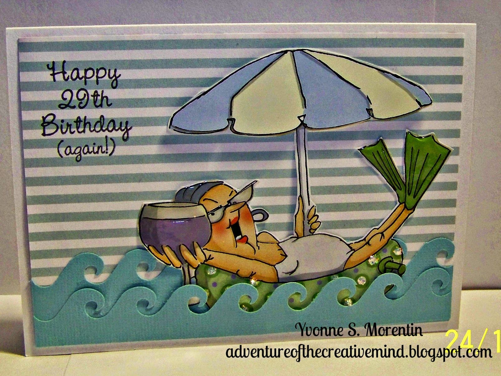 Art impressions ai deco set sku handmade birthday card