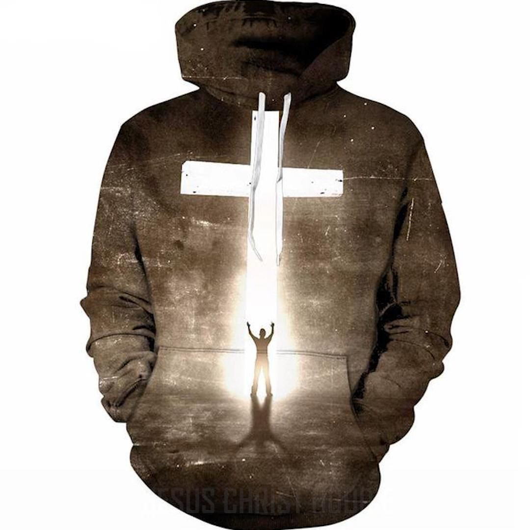 Look your best in the Be An Inspiration 3D hoodie. The material is ultra soft and provides a perfect fit!