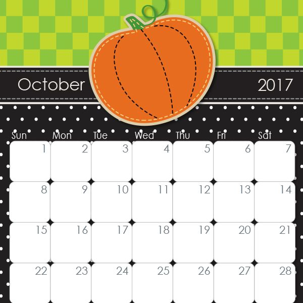 Make every day count with our cute and free printable calendars