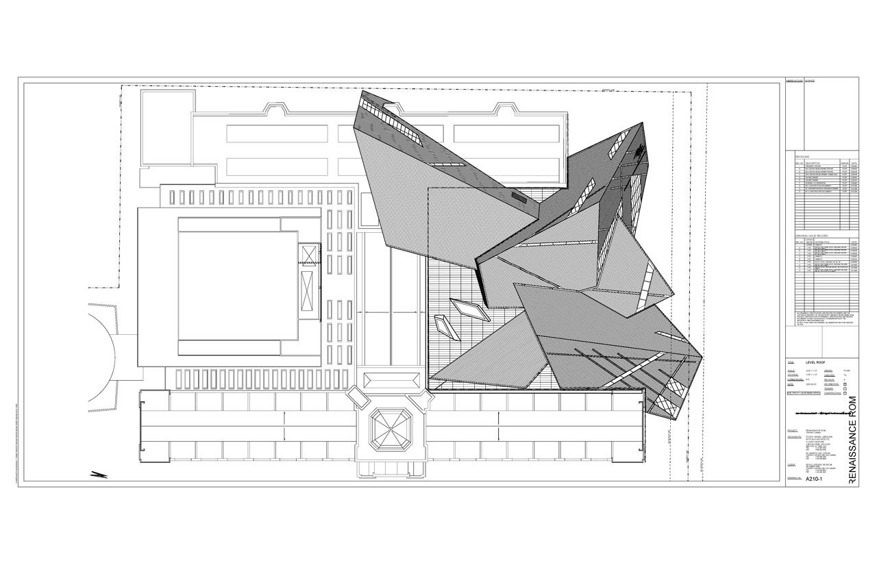 Royal Ontario Museum Drawings And Napkin Sketch Credit