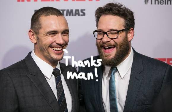 Seth Rogen Is Throwing James Franco A… BAR MITZVAH?!