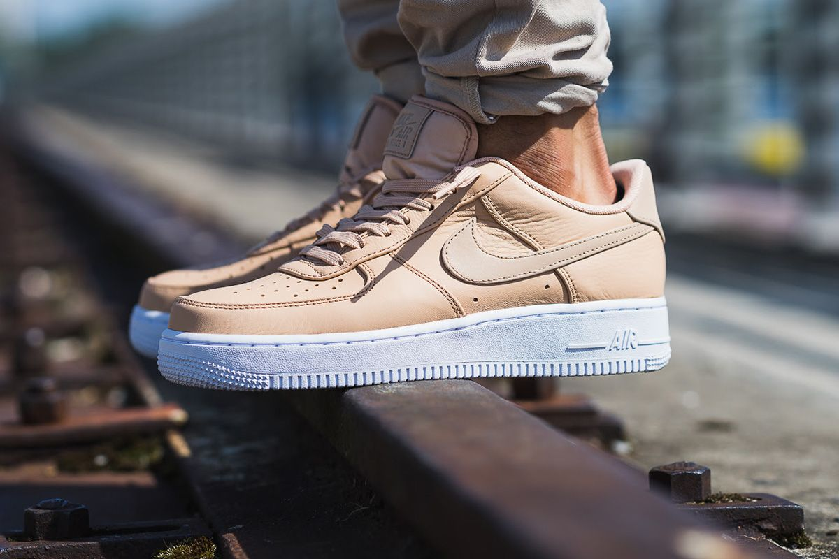 "sale retailer 719a3 e1395 On-Foot Nike Air Force 1 07 Premium ""Vachetta Tan"""