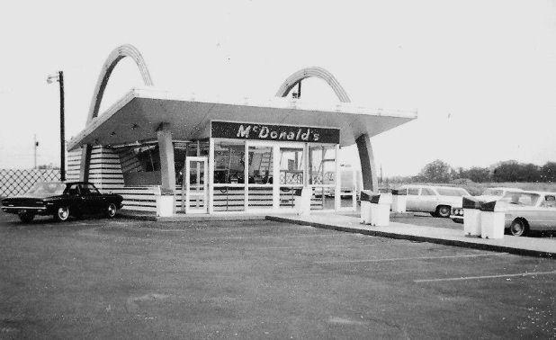 McDonalds back way then.