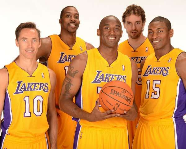 Starting 5 At Some Point Los Angeles Lakers Basketball Los Angeles Lakers La Lakers