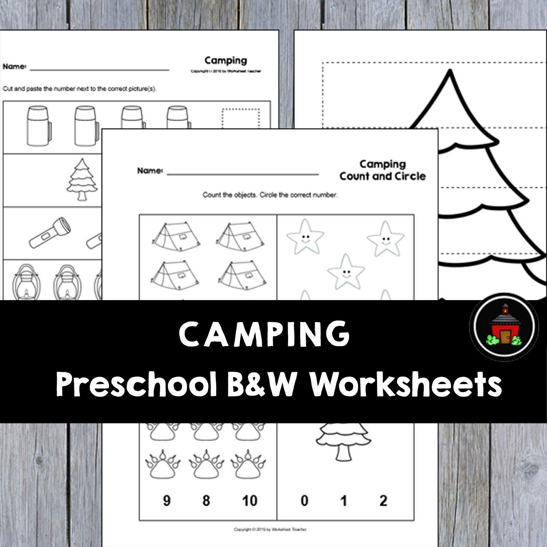10 Camping Preschool Curriculum Activities