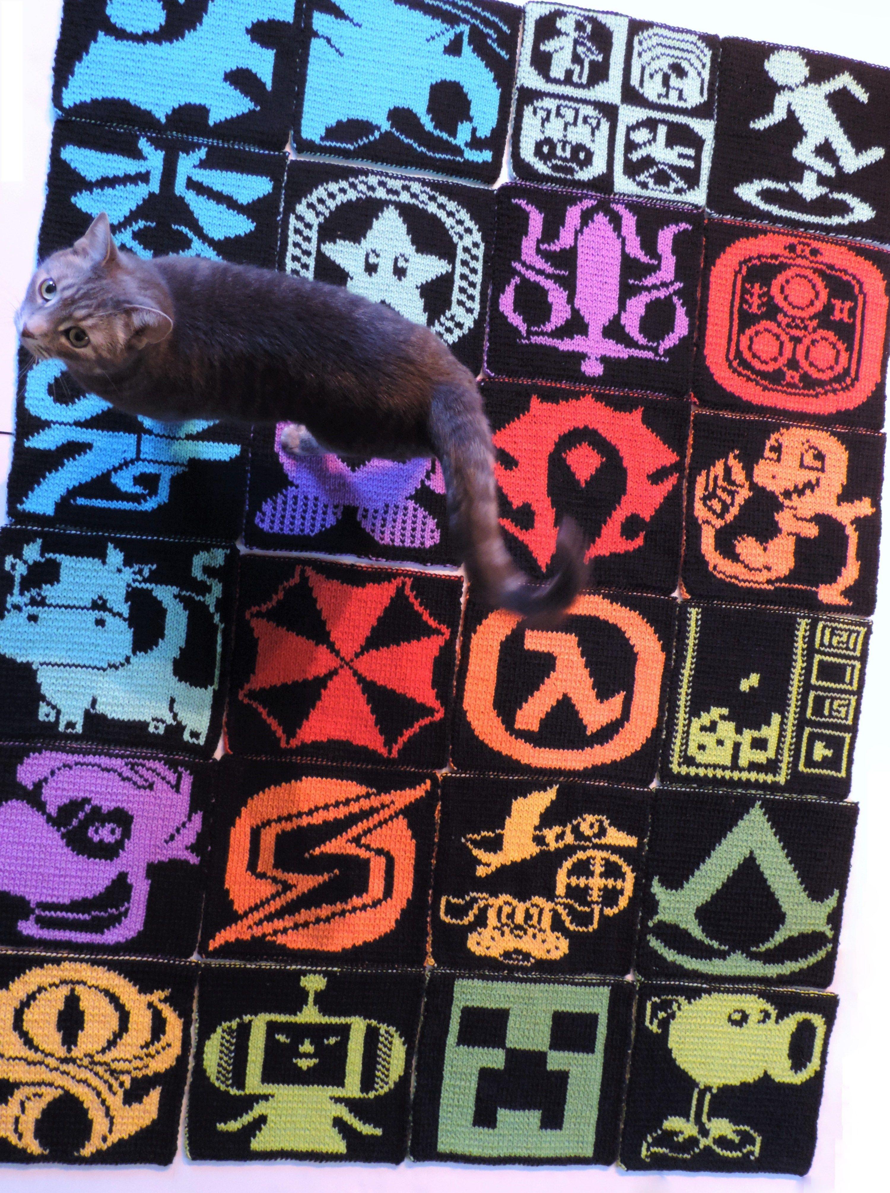 2016 Geek-A-Long: World of Warcraft   Colour chart, Knit patterns ...