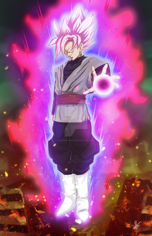 Super Saiyan Rose Black By Bluealacrity On Deviantart Goku Black