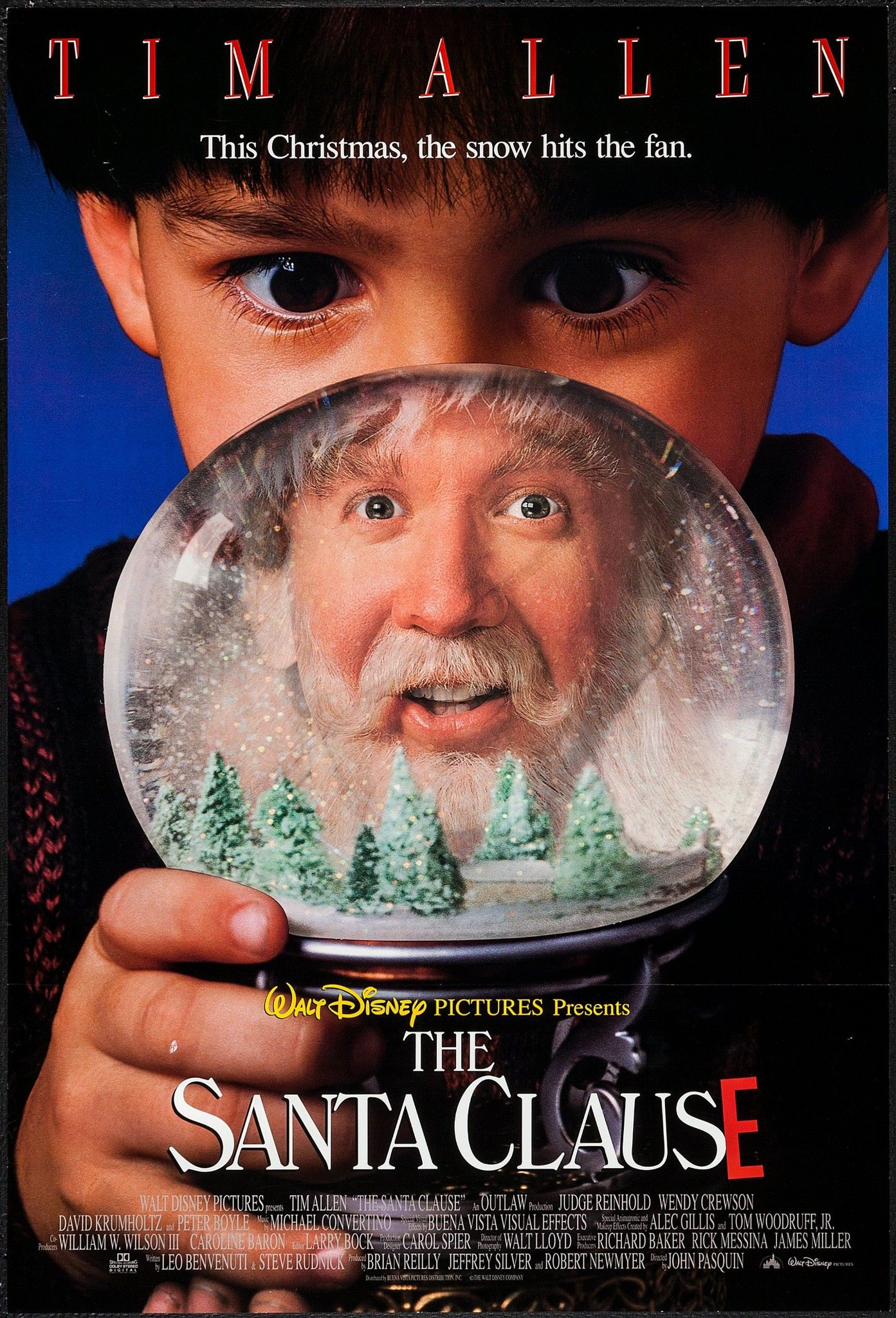 The Santa Clause crazy how old this movie is already