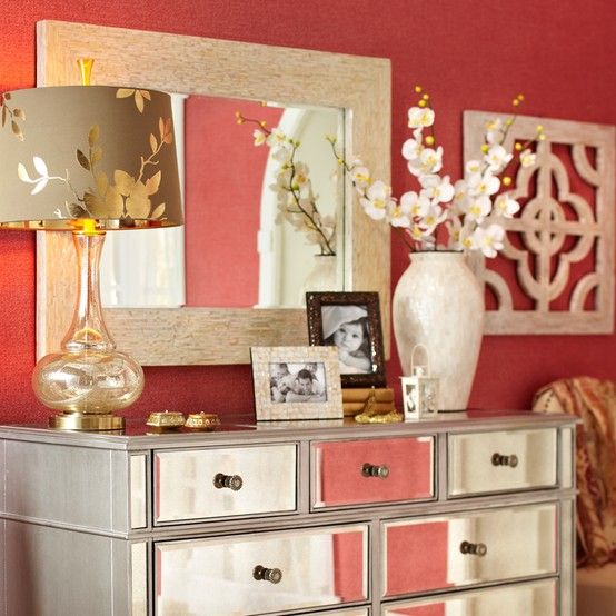dresser decor from pier 1 imports - Dresser Decor