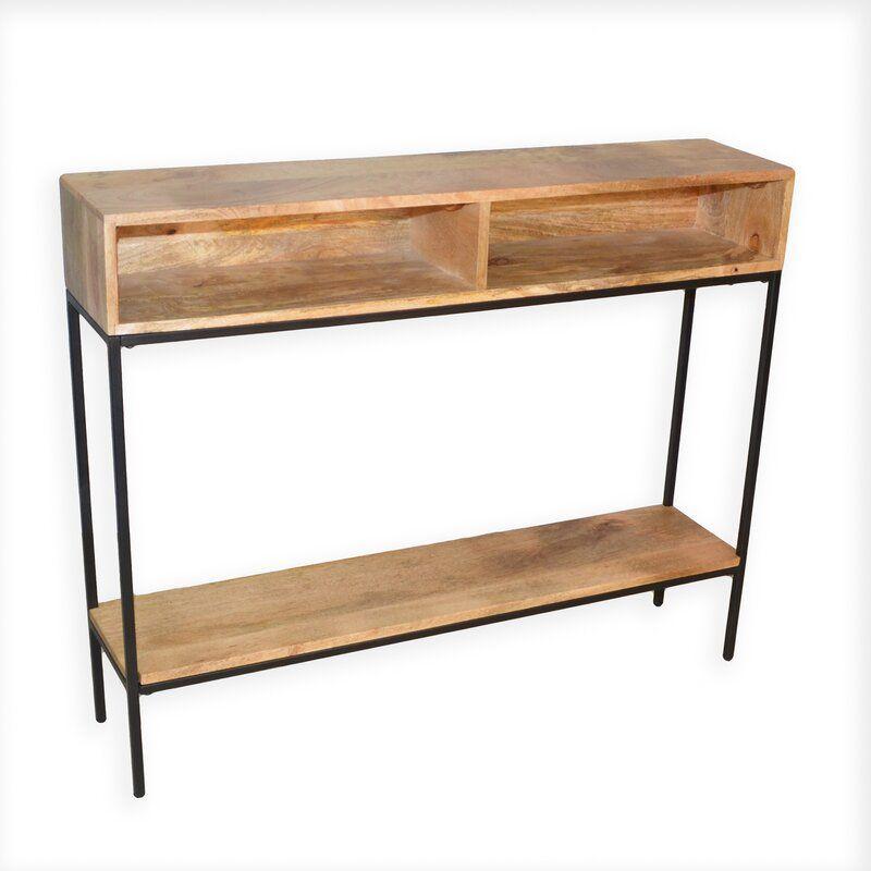 Ashton 42 Console Table Wood Console Table Rustic Console Tables Rustic Consoles