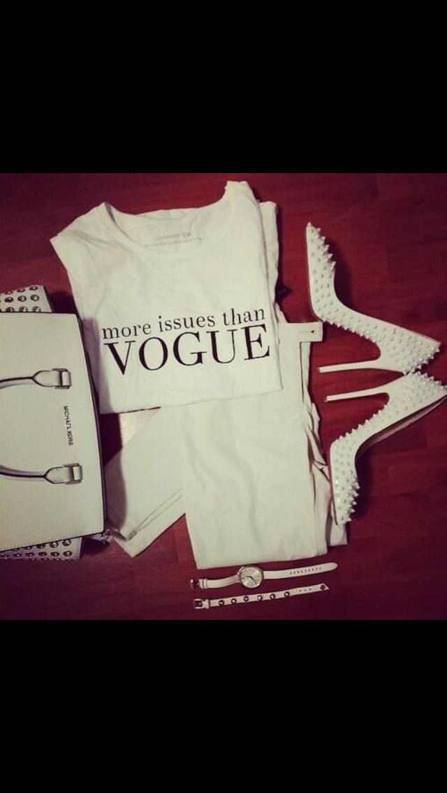 White out Vogue