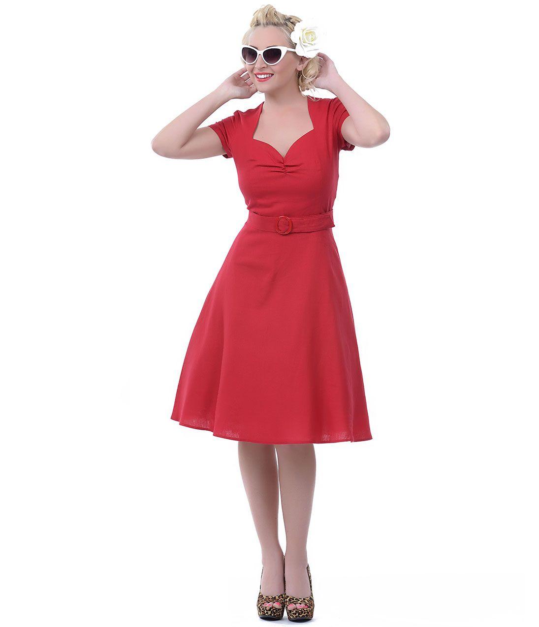 Unique vintage sweetheart dress vintage inspired and vintage prom