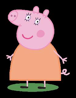 Cartoon Characters Peppa Pig Png Hq Peppa Pig Images Mummy Pig Peppa Pig Cartoon