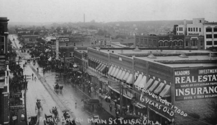 This Is What Oklahoma Looked Like 100 Years Ago It May Surprise You 100 Years Ago Tulsa Oklahoma History